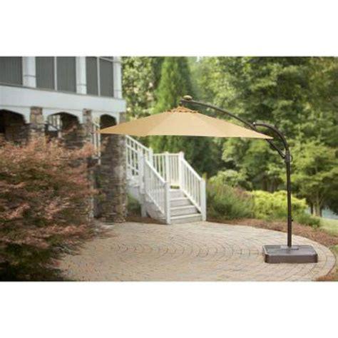 11ft solar offset umbrella replacement canopy garden winds