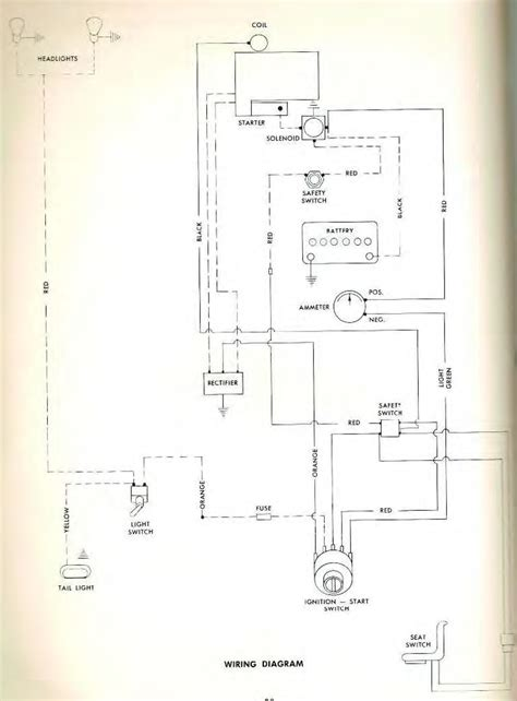 wiring diagram wheel horse electrical redsquare