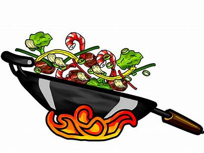 Clipart Wok Chinese Fries Transparent Chow Webstockreview