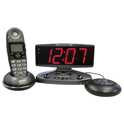 Bed Shaker Alarm by Maxiaids Up Call Alarm Clock With Phone Alert