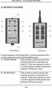 Kustom Signals Rpk Field Disturbance Sensor User Manual