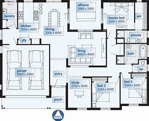 Single Story House Floor Plans Single Story House, modern ...
