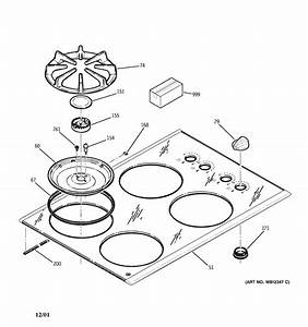 Ge Gas Cooktop Parts