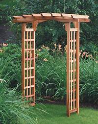 garden trellis plans Wooden Garden Arbor Plans – Outdoor Decorations