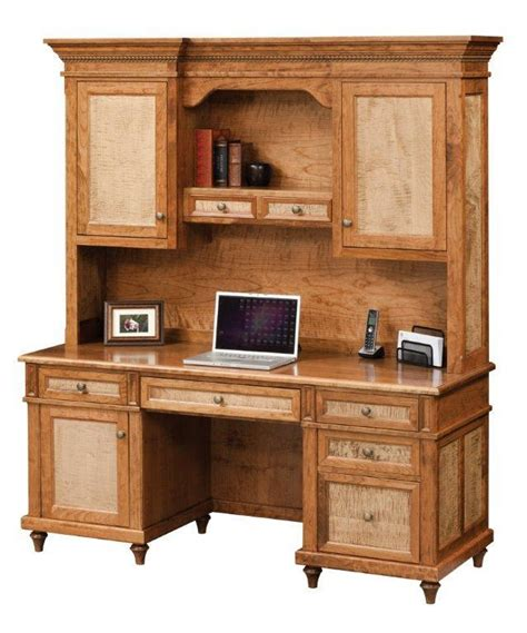 desk with hutch top bridgeport credenza desk with optional hutch top from