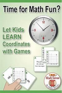 Understanding Coordinates  40 Math Matching Game Cards