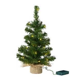 pre lit mini tree with jute bag lights4fun co uk