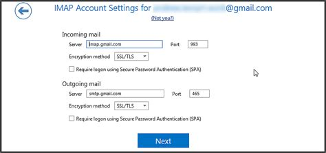 Office 365 Outlook Gmail Settings by How To Solve A Repeating Password Error When Setting Up