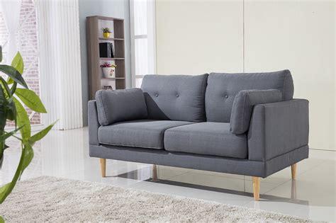 Divano Roma Furniture Mid Century Modern Ultra Plush Linen