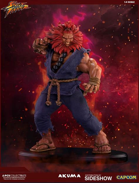Street Fighter Akuma Statue By Pop Culture Shock