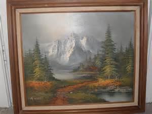 Oil Painting Artist Signature Henry
