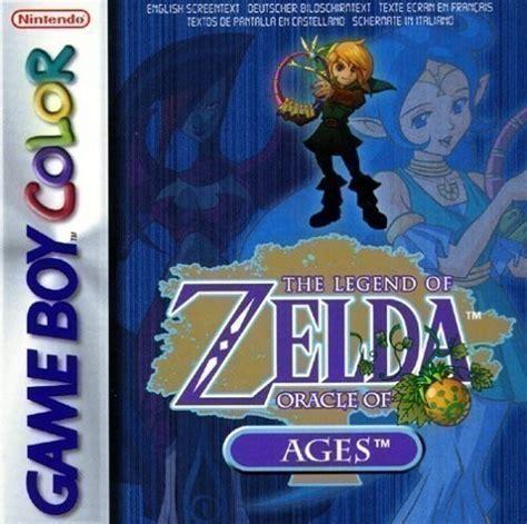 gameboy color  legend  zelda oracle  ages