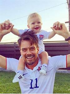 Josh Duhamel and Son Axl Support Team USA in Cute Photo ...