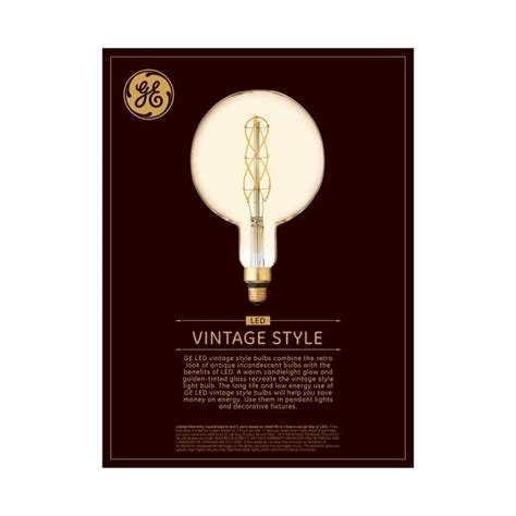vintage warm candlelight  replacement led amber finish spiral weave filament decorative