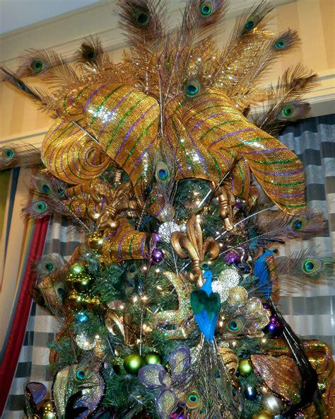 mardi gras themed christmas tree decorations