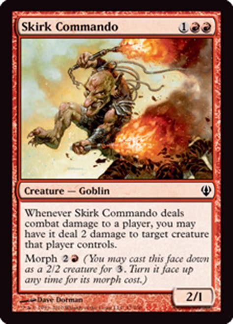 Mtg Morph Deck Khans by Five Morphlings Magic The Gathering