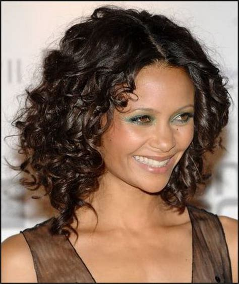 medium curly haircuts for medium length curly hairstyles for