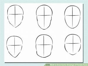 How to Draw Comic Drawings of Female Faces: 7 Steps
