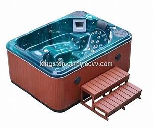 Balboa System 3 Person Outdoor Mini Jacuzzi Spa Pool With