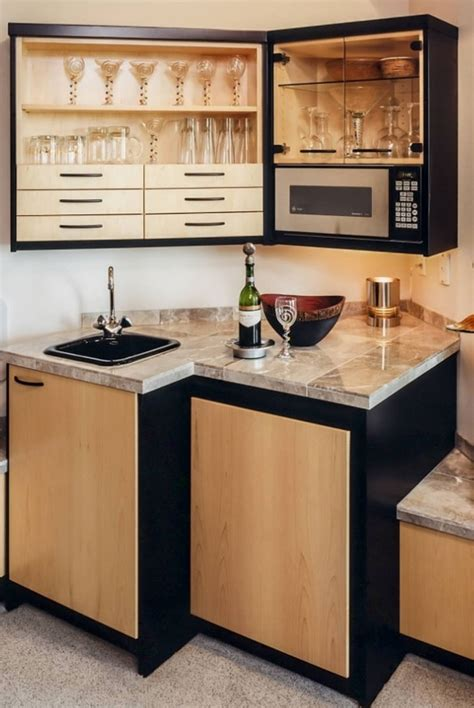 backsplash ideas for small kitchens 45 basement kitchenette ideas to help you entertain in