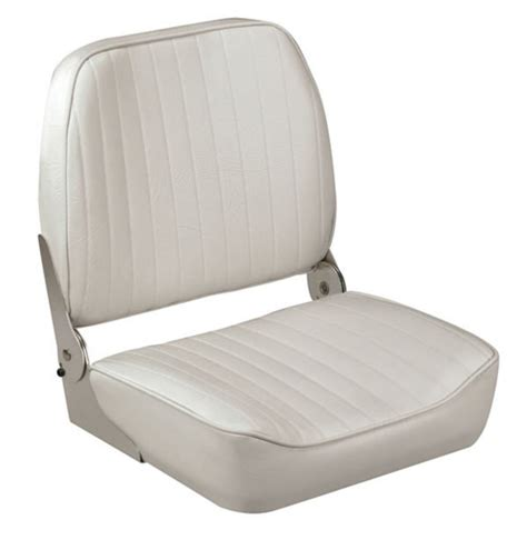White Folding Boat Seat by Folding Boat Seat White