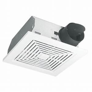 broan 3 sone 50 cfm white bath fan lowe39s canada With how many cfm for bathroom fan