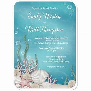 shop under the sea invitations on wanelo With wedding invitations under 50p