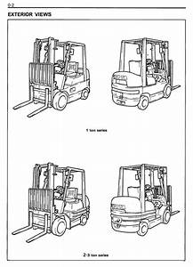 Toyota Lpg Forklift Truck 6fgcu15  6fgcu18  6fgcu20