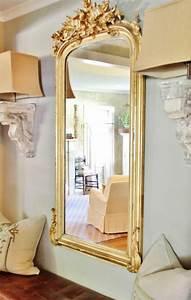 Grand Miroir Baroque : comment d corer avec le grand miroir ancien id es en photos ~ Teatrodelosmanantiales.com Idées de Décoration