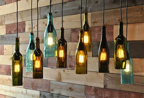 Recycled Wine Bottle Chandelier by Recycled Bottle Chandelier The Napa Ideas Para Casa