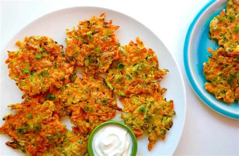 just a taste quick and crispy vegetable fritters