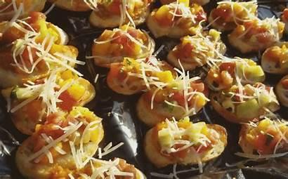 Barn Horse Appetizers Rebanadas Soho Heirloom Tomates
