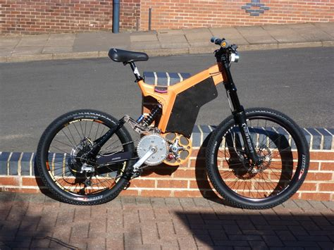 Electric Motor For Bicycle by Custom Specialized Charged Mountain Bike