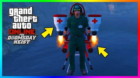 GTA Online The Doomsday Heist DLC - How To Get/Save The Paramedic Outfit In Free Mode! (GTA 5 ...