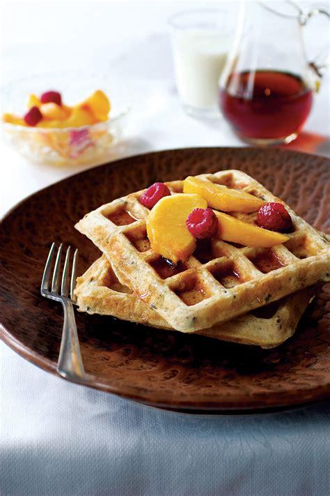 wild rice waffles recipe relish