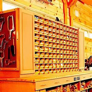 Space-Saving Hardware Bin Storage Woodworking Plan from