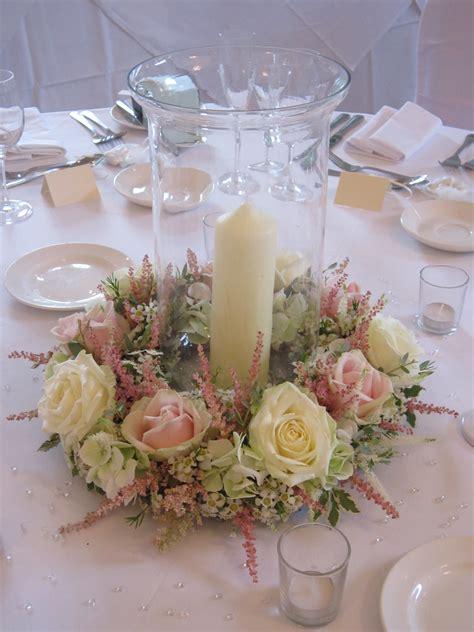Wedding Centerpieces Candles And Flowers Auroravinecom