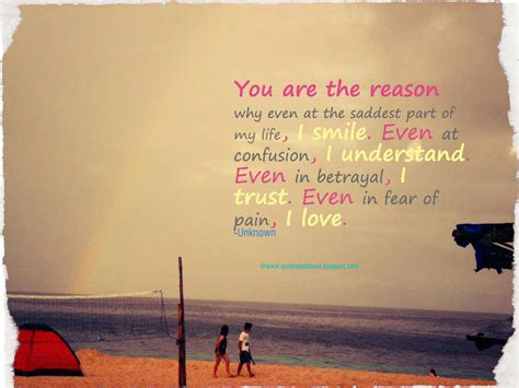 You Are My Reason To Smile Quotes. Quotesgram