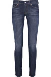 Dark Blue Skinny Jeans for Women