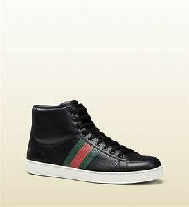 311a483cd1e Gucci High Top Sneaker. leather high top sneaker with tiger gucci ...