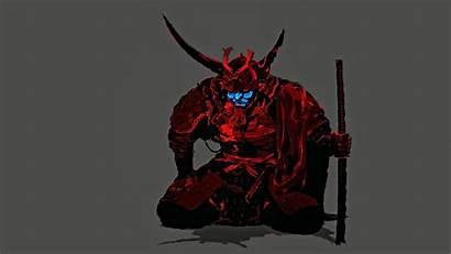 Samurai Mask Demon Ronin Oni Cannibal Ox