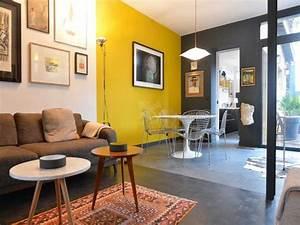 Décoration Salon Jaune Moutarde : salon jaune et gris galerie avec la redoute dacoration salon jaune et bleu living yellow des ~ Melissatoandfro.com Idées de Décoration