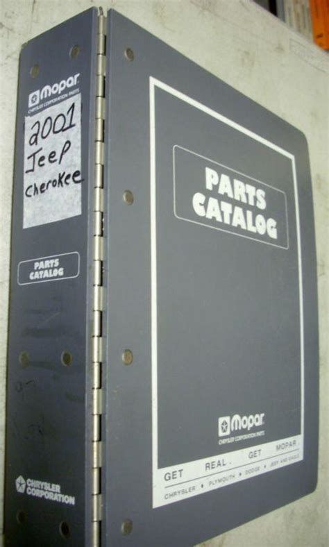 sell  jeep cherokee dealer dealership parts book