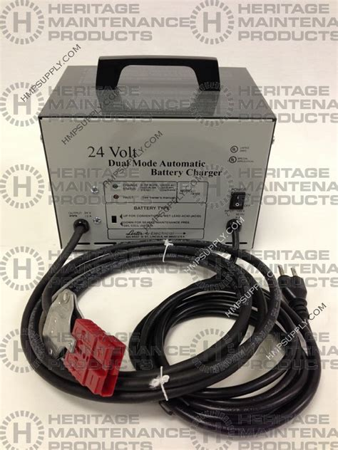 Nobles Floor Scrubber Battery Charger heritage maintenance products tn 1056034 24v 11a battery