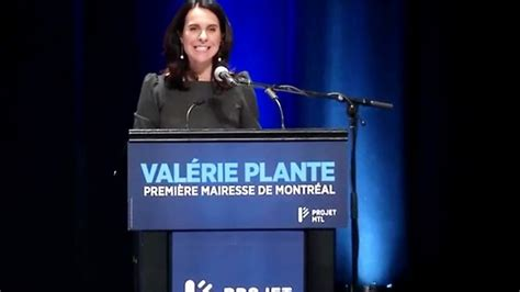 valérie plante nouvelle mairesse 201 lections municipales 2017 au qu 233 bec s 233 isme politique 224