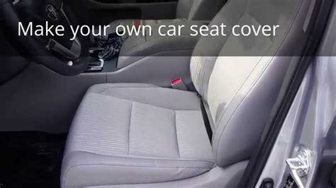 car seat cover part    youtube