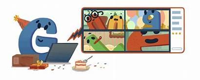 Google Birthday Doodles 22nd Logos