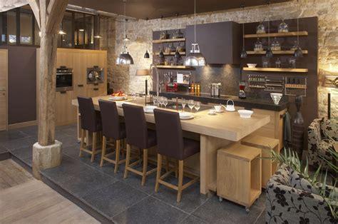 cuisine chaleureuse contemporaine cuisine chaleureuse contemporaine cuisine amenagee bois