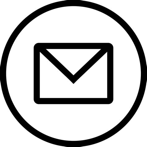 15175 email icon png email with circle svg png icon free 146787