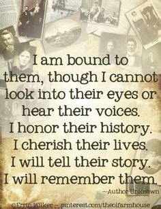 family history quotespoems images
